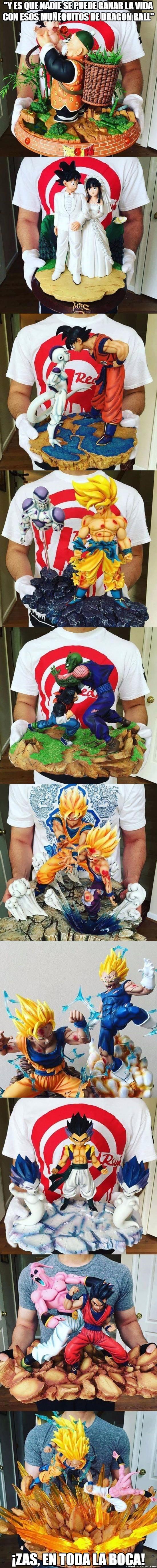 Figuras de Dragon Ball que darías tu vida por tenerlas Gracias a…