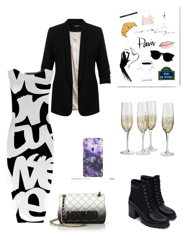 """Untitled #70"" by nonanabaa ❤ liked on Polyvore featuring interior, interiors, interior design, home, home decor, interior decorating, Moschino, Miss Selfridge, Garance Doré and Zara"