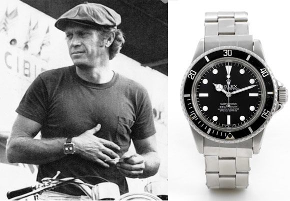 Steve McQueen - Rolex Reference 5512 Submariner ...