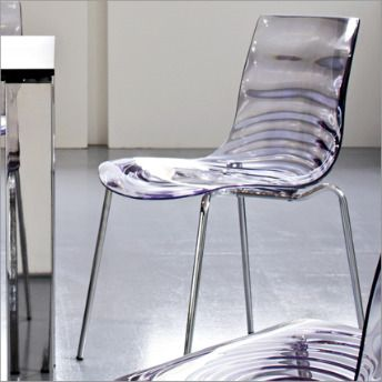 Calligaris L\'eau Dining Chair | furnishings | Dining chairs, Dining ...