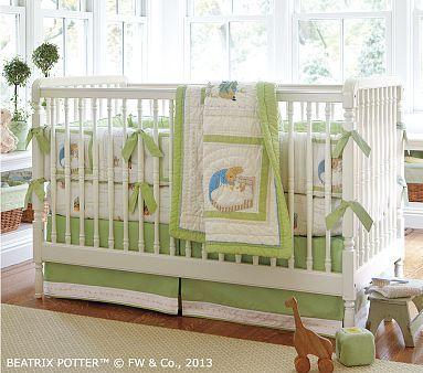 Peter Rabbit Baby Bedding Set Nursery Bedding Nursery Pottery