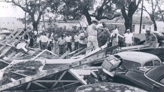 hurricane audrey 1957 a powerful category 4 storm audrey caused catastrophic damage across eastern texas and western louisiana kill
