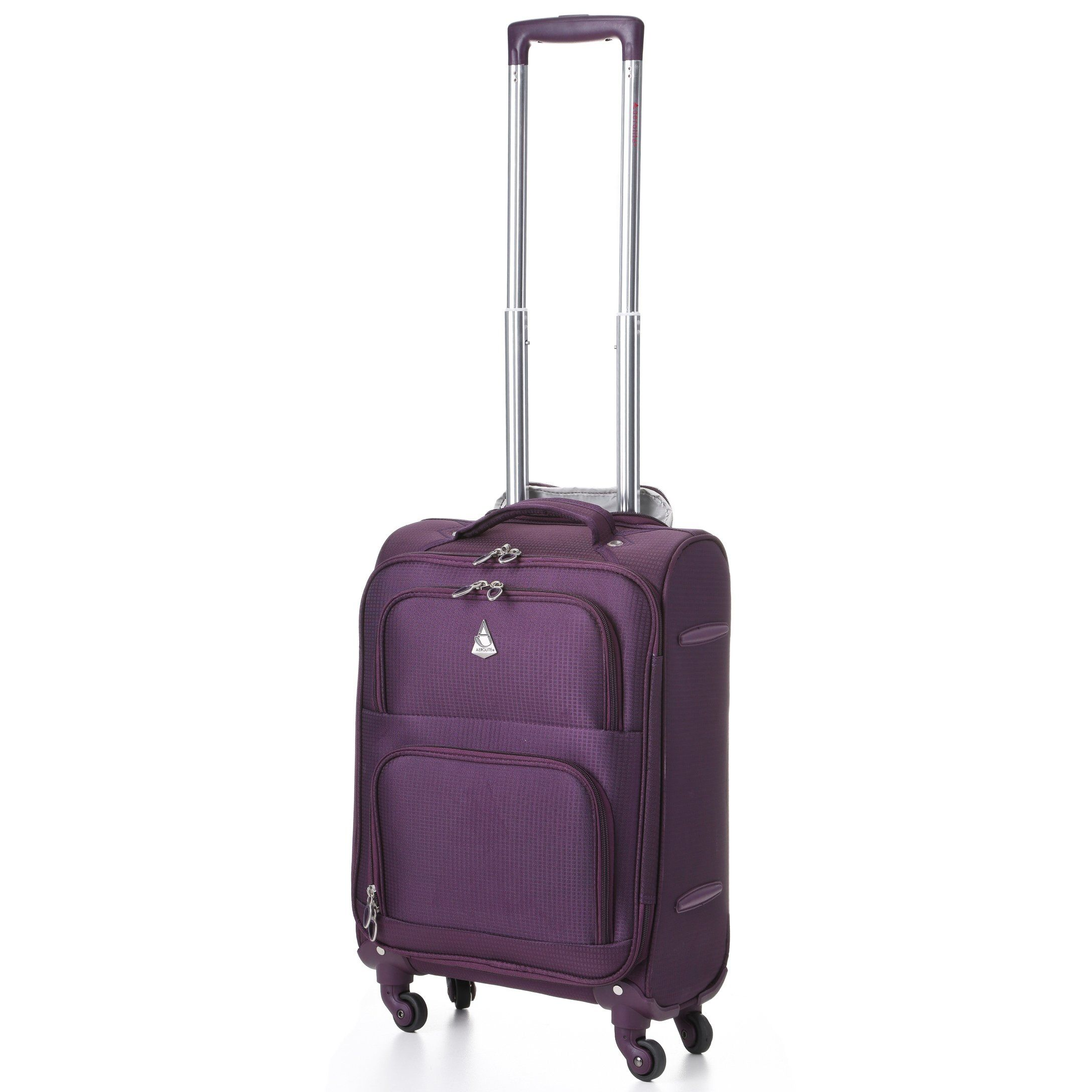 Amazon.com: Aerolite Lightweight Luggage Trolley Suitcases, 4 ...