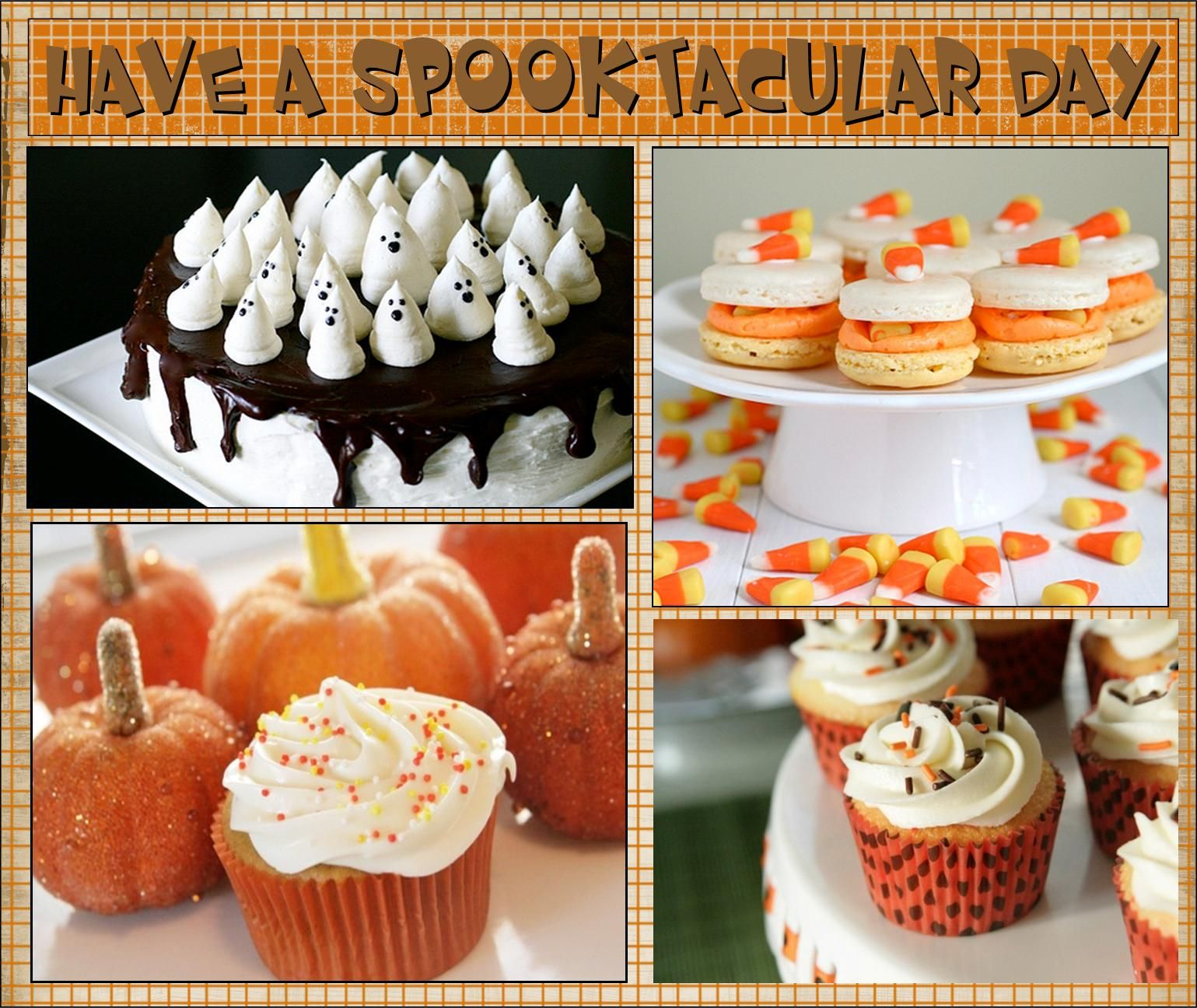 What a spooktacular, ghostly cake for your Halloween celebration See the recipe for 24 more treats