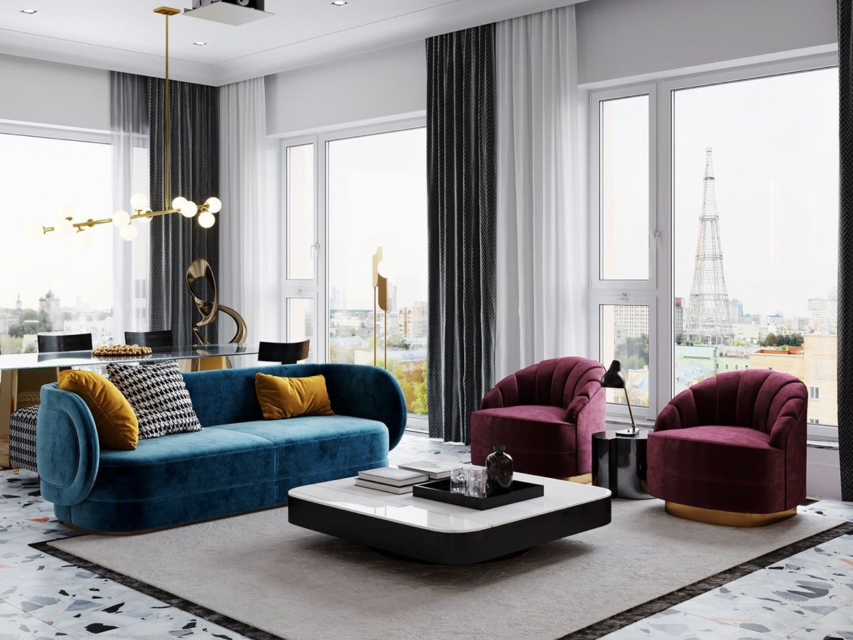 3 Home Interiors With Modern Elegance With Images Elegant Home