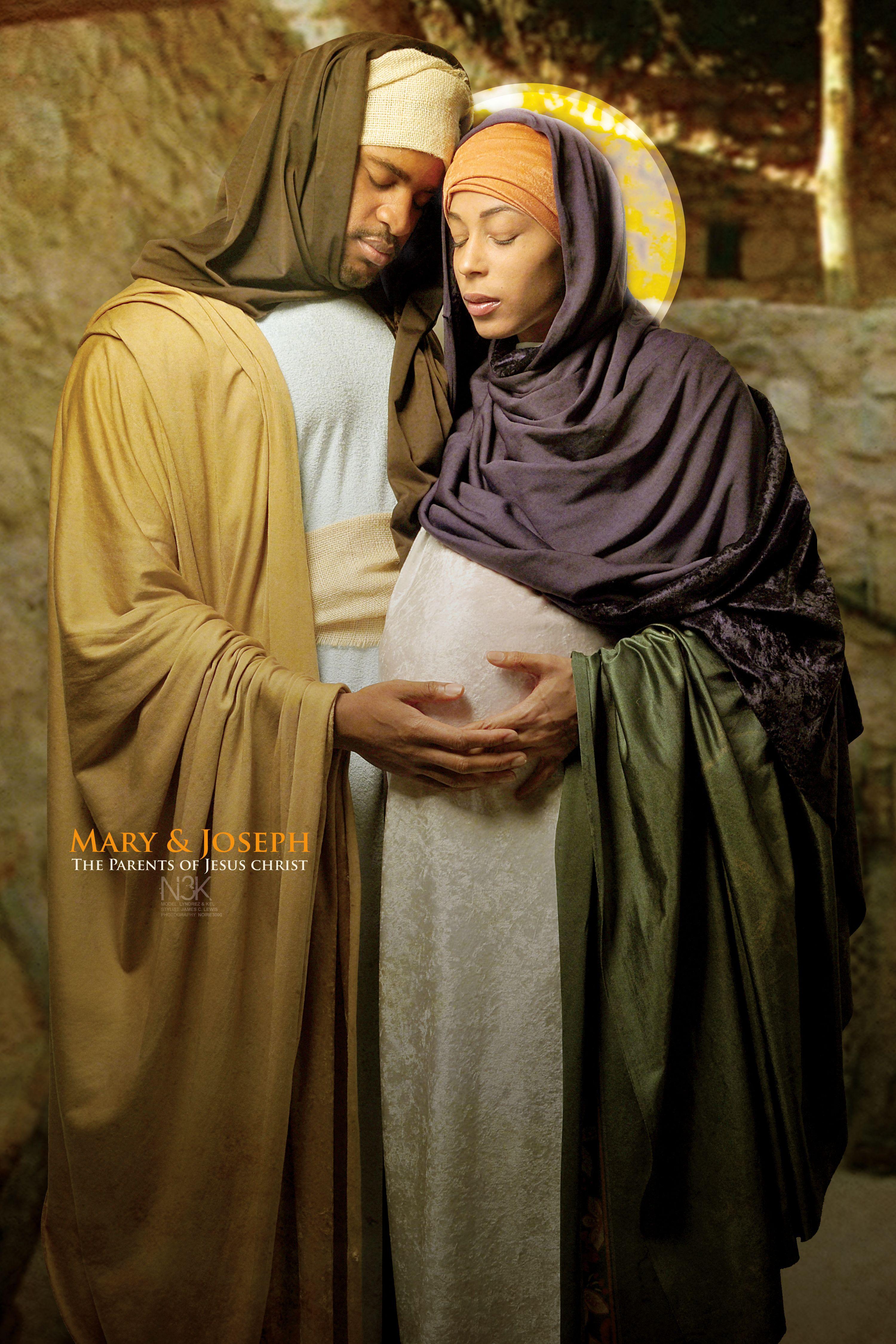 Joseph & Mary by International Photographer James C. Lewis
