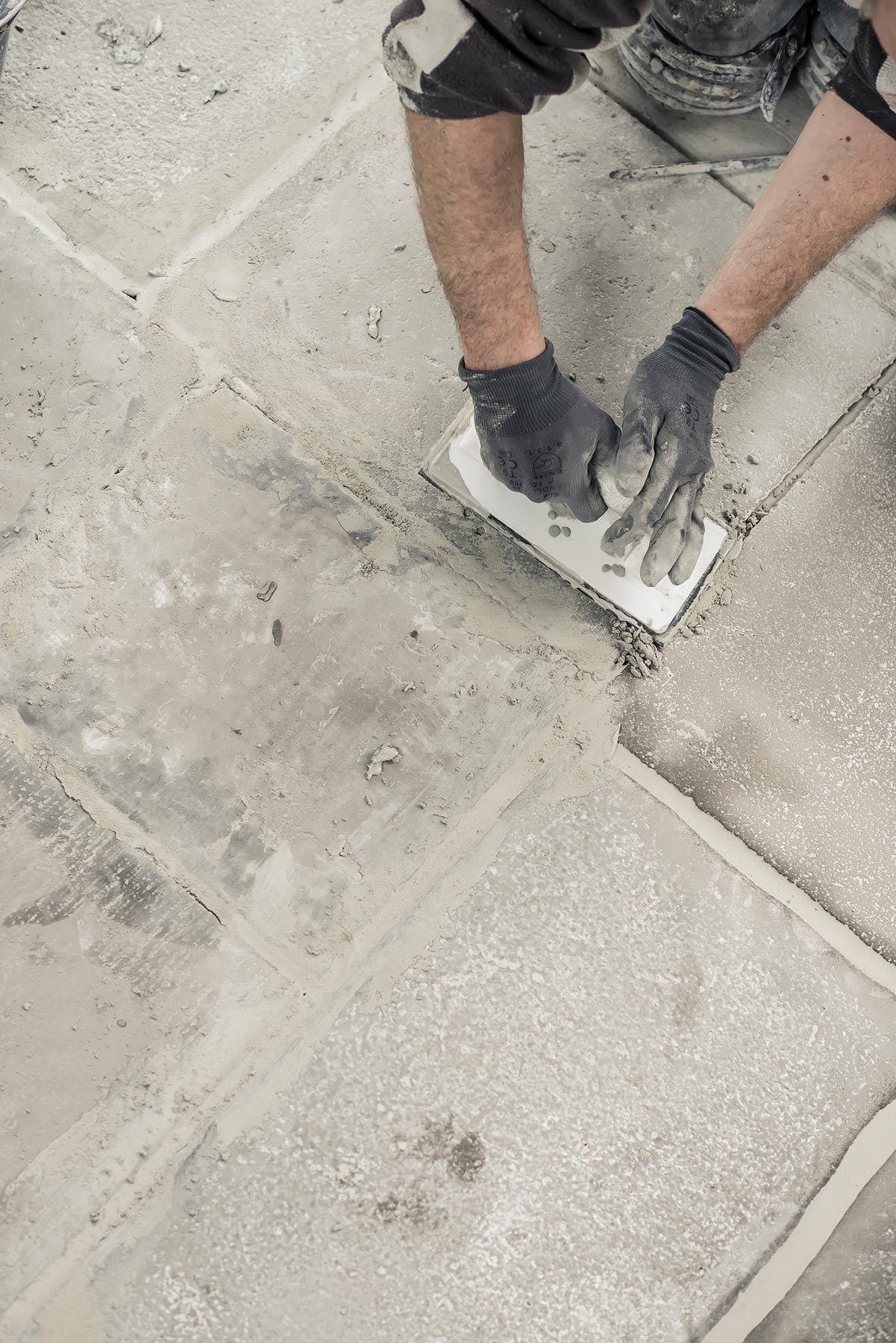 raw stones vloer leggen raw pinterest vloeren garages en