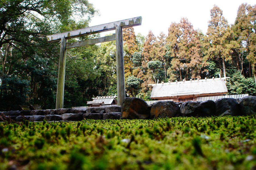 神服織機殿神社 in Japan Ise Shima