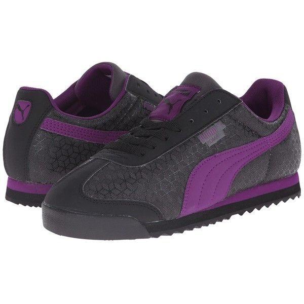 PUMA Roma Women's Classic Shoes ($70) ❤ liked on Polyvore featuring shoes,  athletic