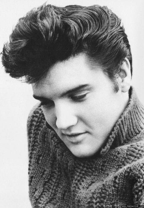 Elvis Presley Peinados De Los 50 Estilos De Cabello Y Barba Pelo Vintage