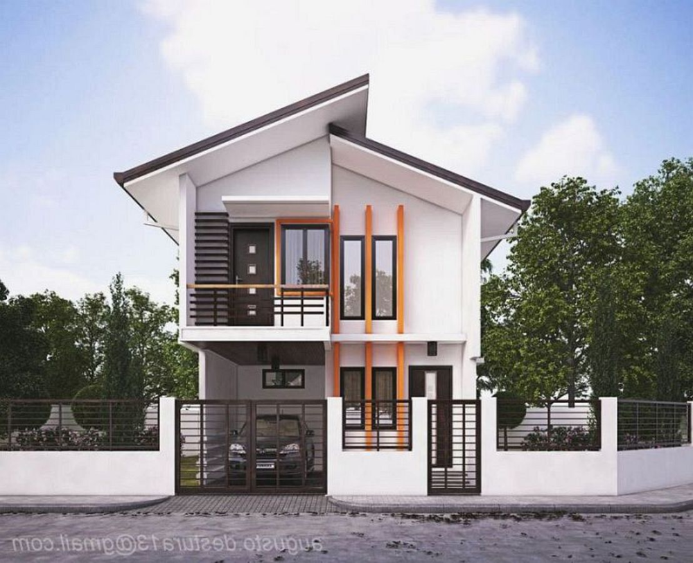Modern House Front Elevation Archives Page 154 Of 227 Cozy Home Interior Ideas Small House Design Philippines Small House Design Facade House