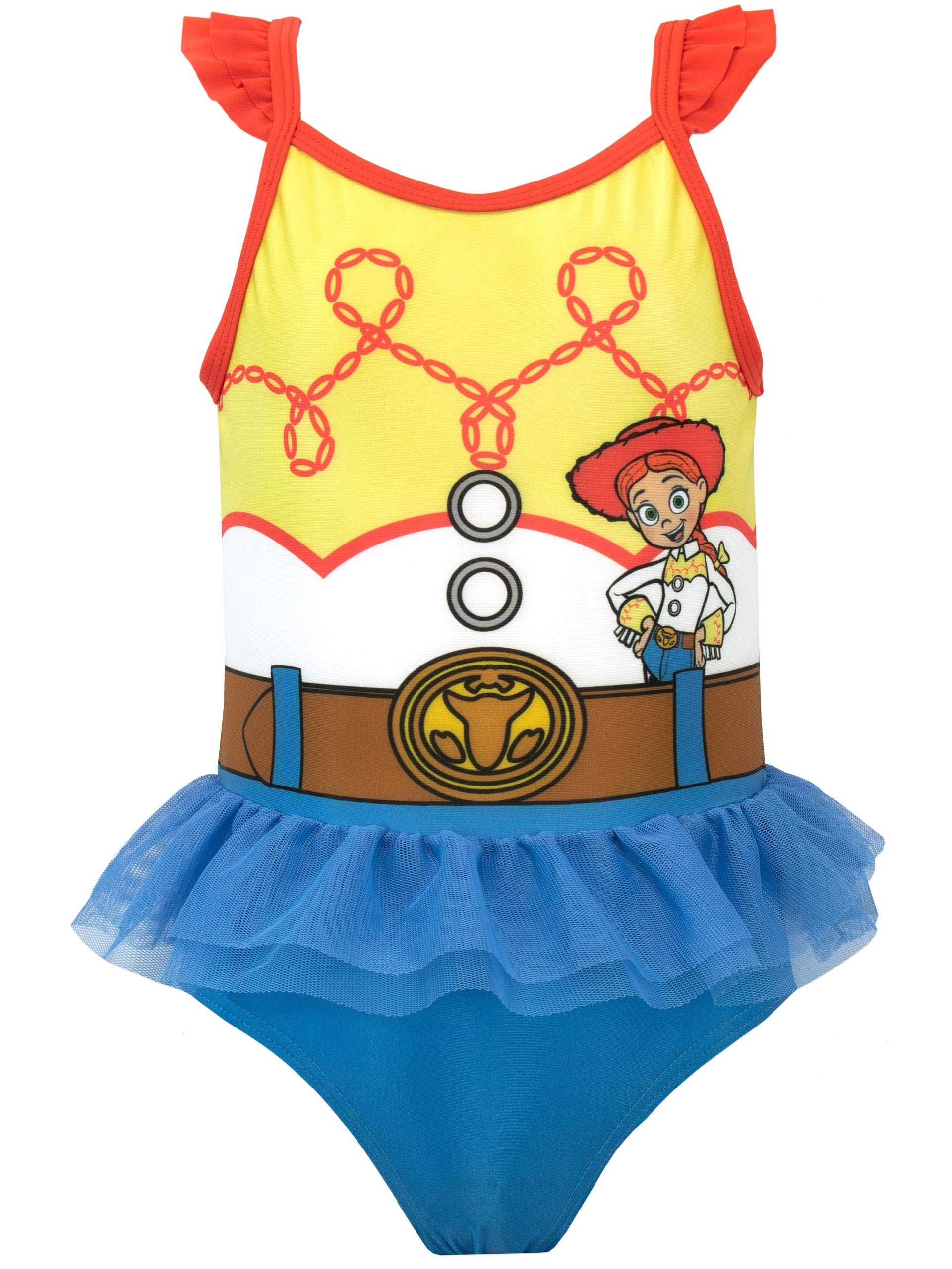 Girls Official Licensed Disney Moana Swimwear Swimsuit Swimming Costume