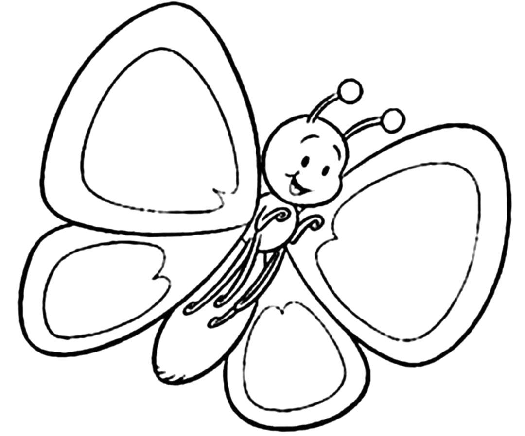 Free Butterfly Coloring Pages Archives