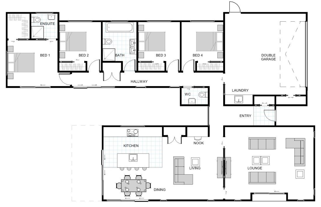 Matai House Design Get 3 Quotes For Free House Plans Nz House Plans My House Plans Free House Plans