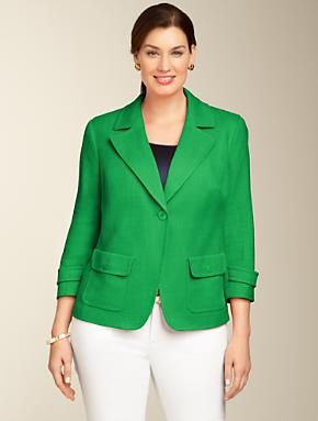 Talbots - Canvas Patch-Pocket Jacket | Jackets and Outerwear | Woman