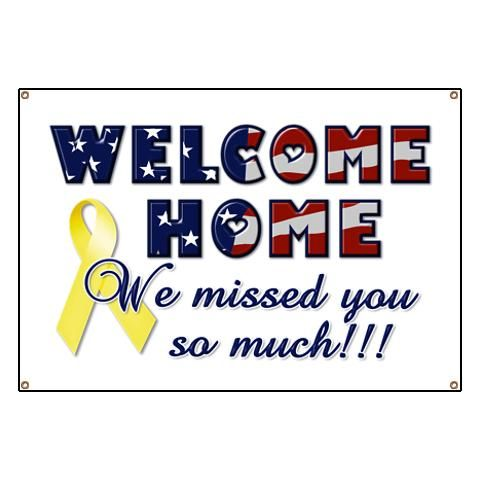 Military Welcome Home Banners Google Search Sgt Ideas