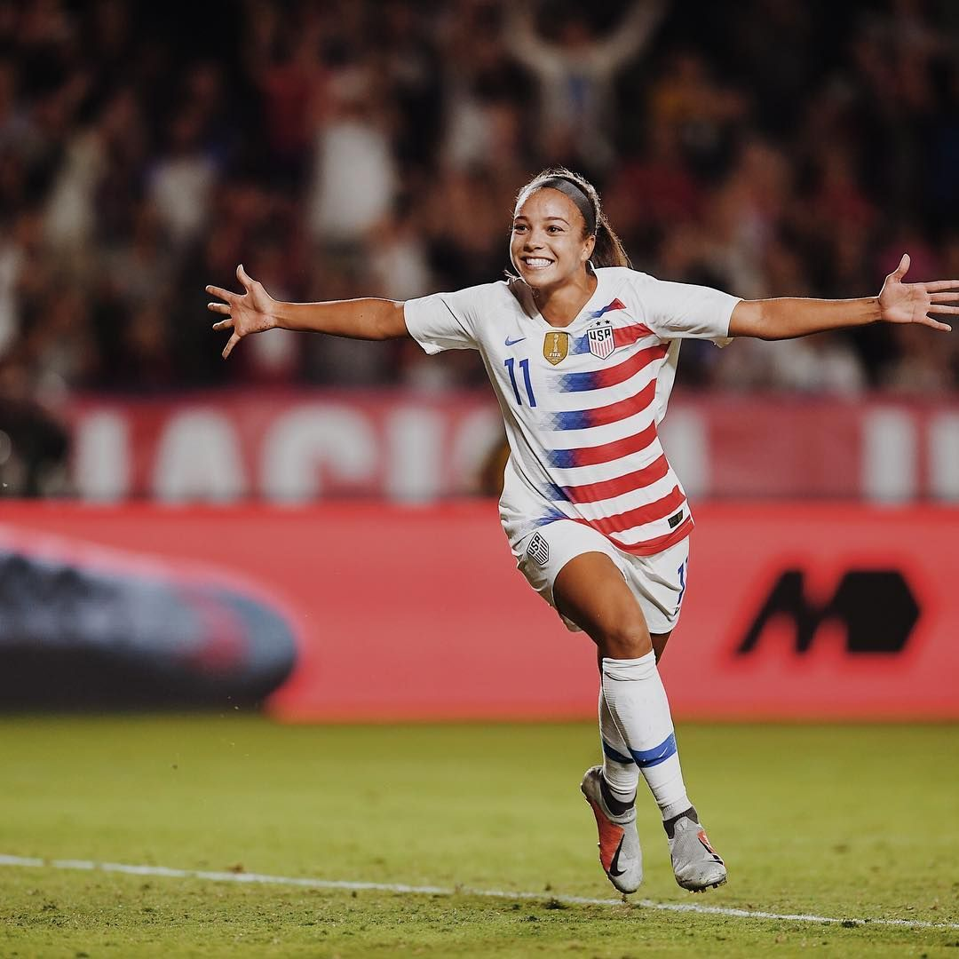 Mallory Pugh Its Amazing How Much Happiness One Game Can Bring Usa Womens Soccer Usa Soccer Women Women S Soccer Team Female Soccer Players