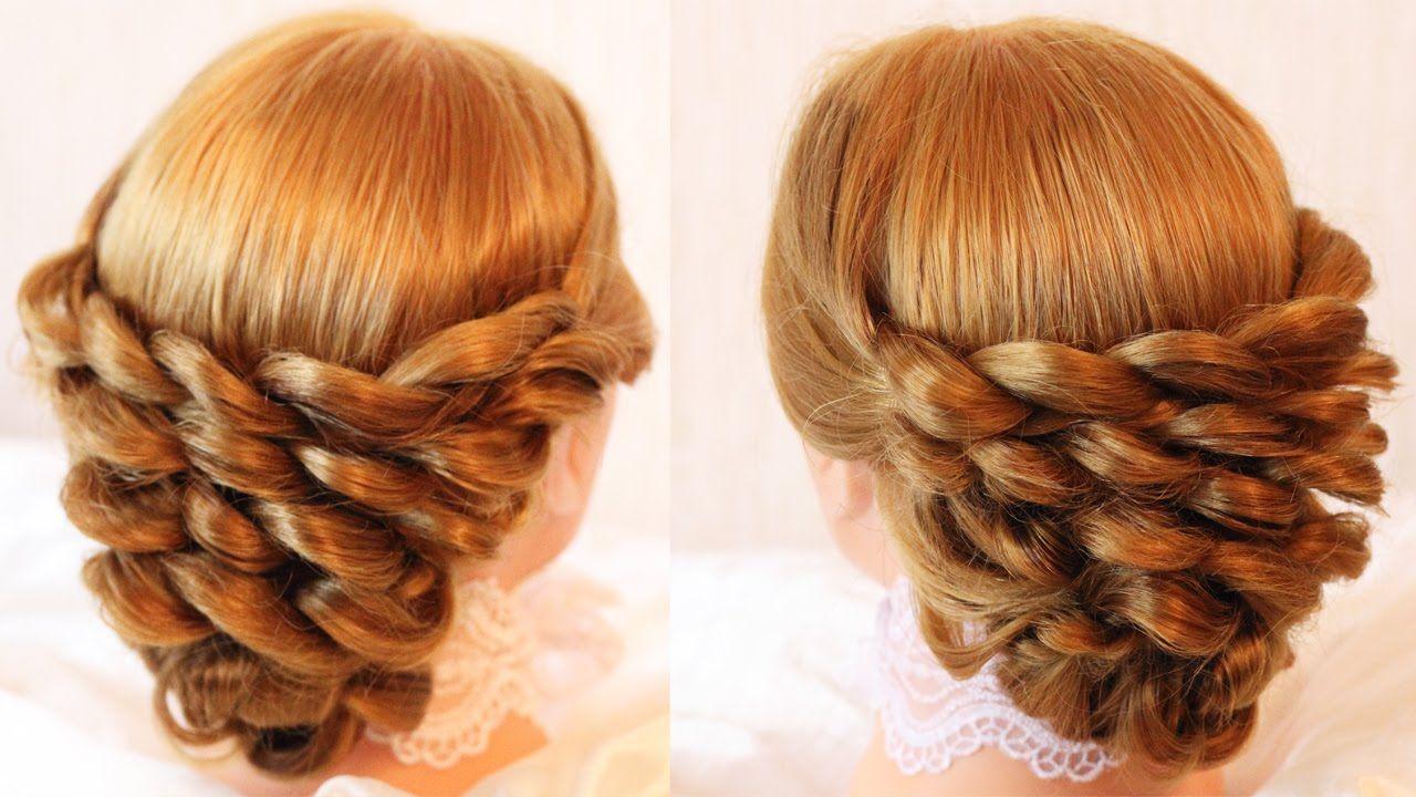 Причёска из кос hair style pinterest hair style formal