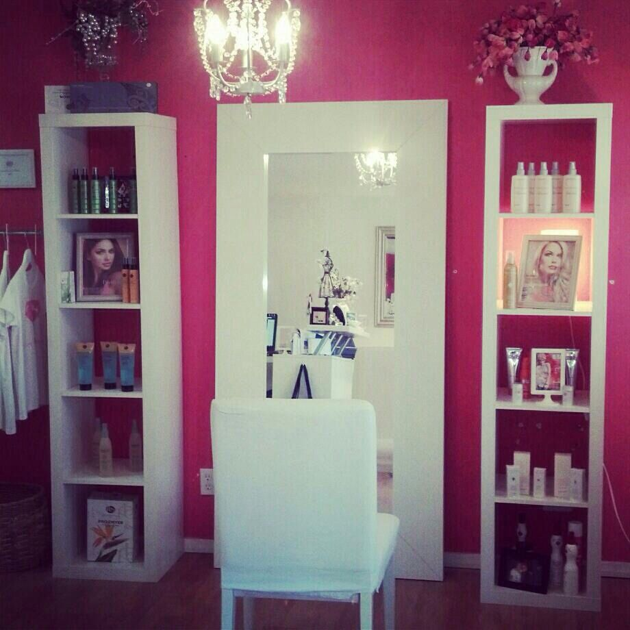I can made like this my coiffure at home!!!  Deco salon de