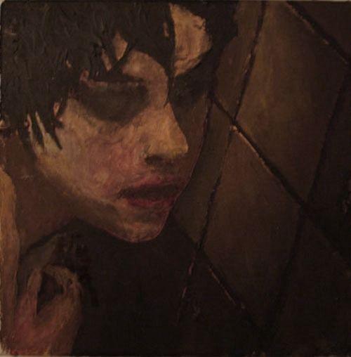 emotionals: acryl auf leinwand, 20x20cm, 2007