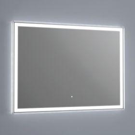 Miroir Lumineux Led Salle De Bain Anti Buee 120x70 Cm Idlight Edge Miroir Lumineux Led Miroir Eclaire Et Led Salle De Bain