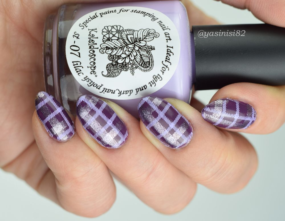 Uberchic Pretty In Plaid Yasinisi Manicure Plaid Nails My Nails