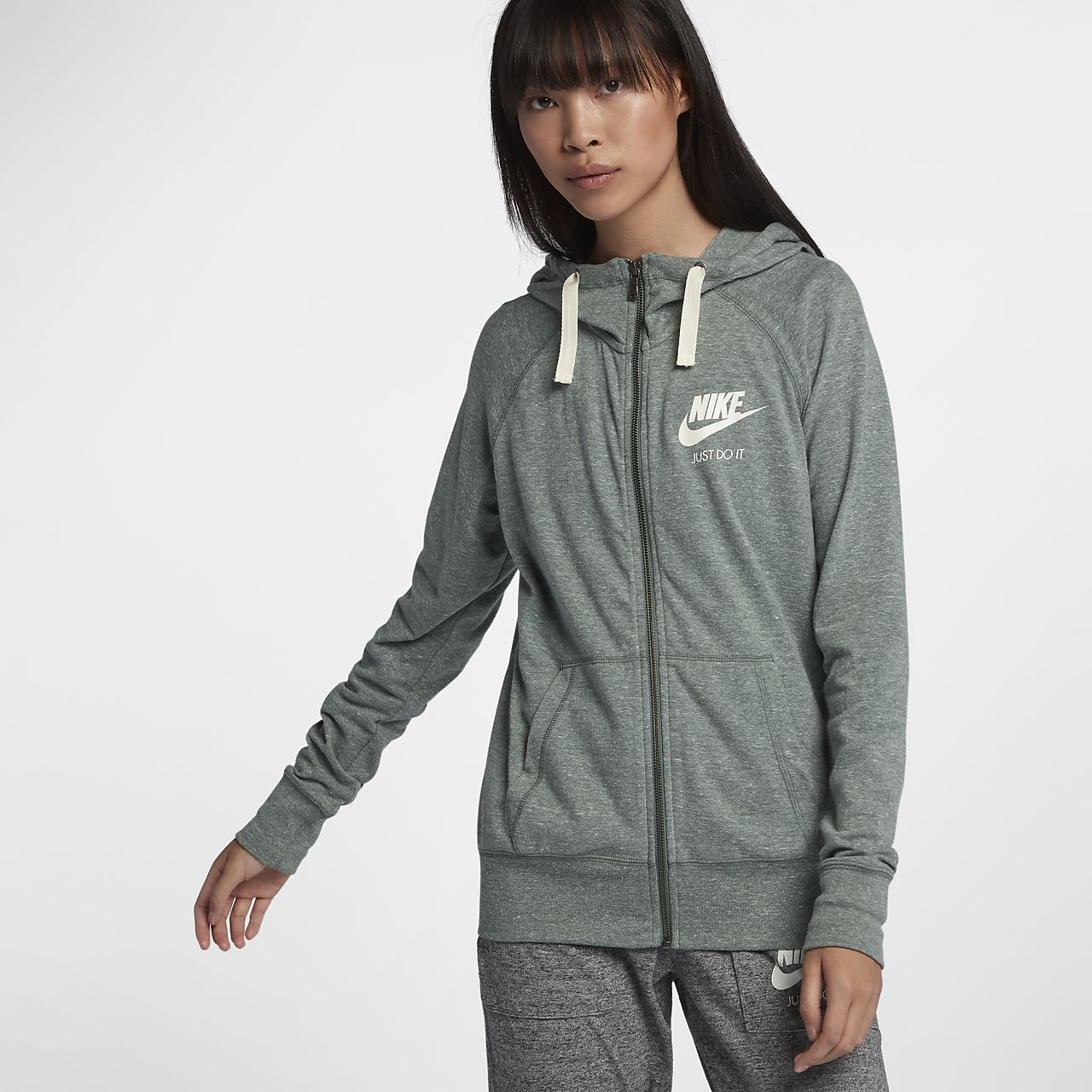 6be3b479c20f Nike Sportswear Gym Vintage Women s Full-Zip Hoodie