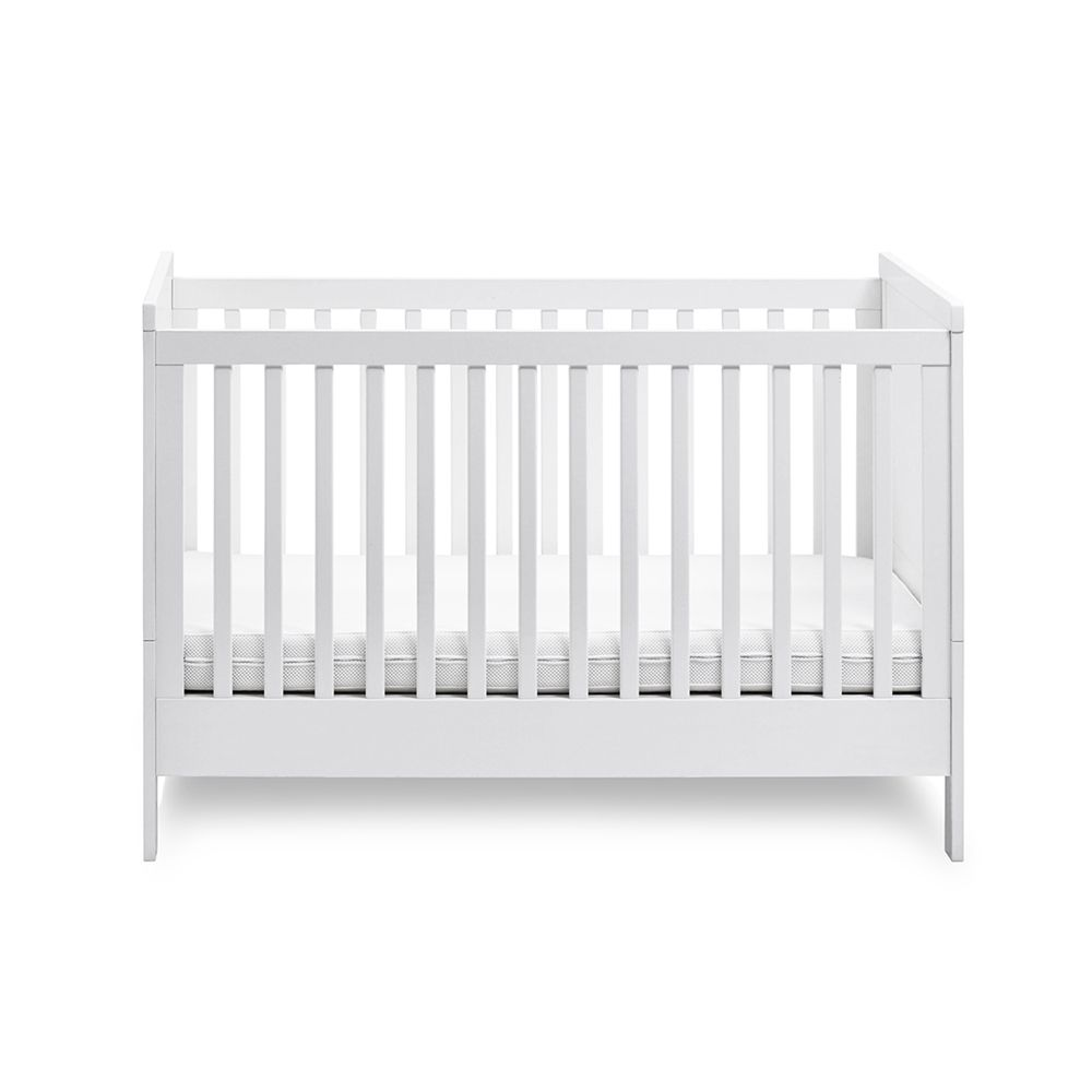 Baby bed turns into toddler bed - Silver Cross Soho Cot Bed 255 300 3 Levels And Turns Into A