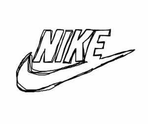 Nike Logo Coloring Pages Sketch Coloring Page