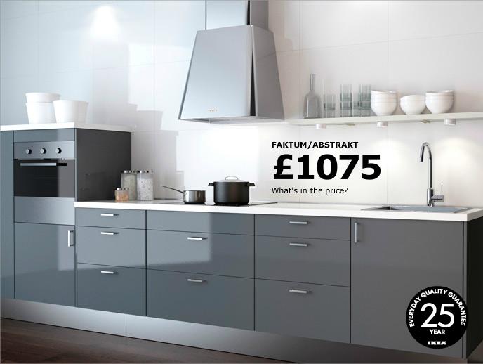 Abstrakt Grey Base Cabinets Plinth Kitchen Kitchen Ikea
