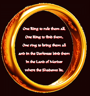 One Ring To Rule Them All Quote Page Number I Will Have A Replica Made Inscribed With One Ring To Rule Them Both One Ring To Find Them One Ring To Bring Them B Lord Of The Rings One Ring