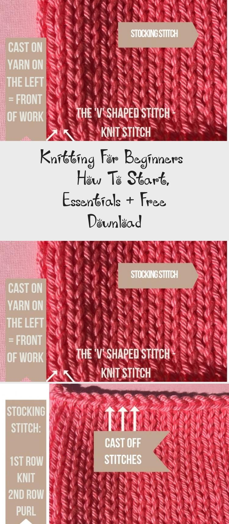 Photo of Knitting For Beginners  – How To Start, Essentials + Free Download – Embroidery