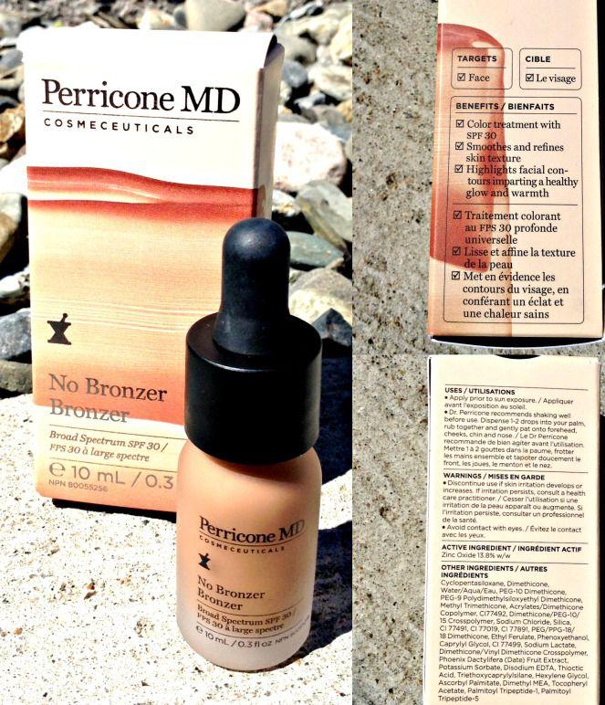 My Review of Perricone MD No Bronzer Bronzer Bronzer