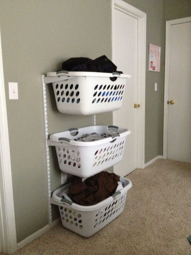 Laundry Storage Ideas For Small Spaces Arredamento