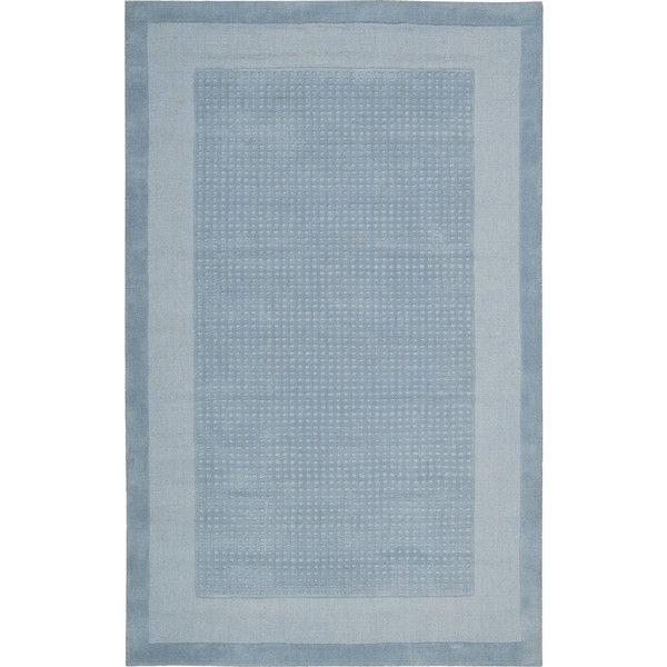 Nourison Watercolor Wool Rectangular Area Rug (8.340 RUB) ❤ liked on Polyvore