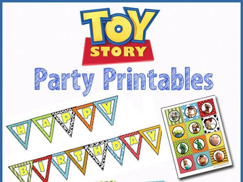 Cumpleaños Toy Story | Descargables Gratis para Imprimir: Paper toys ...