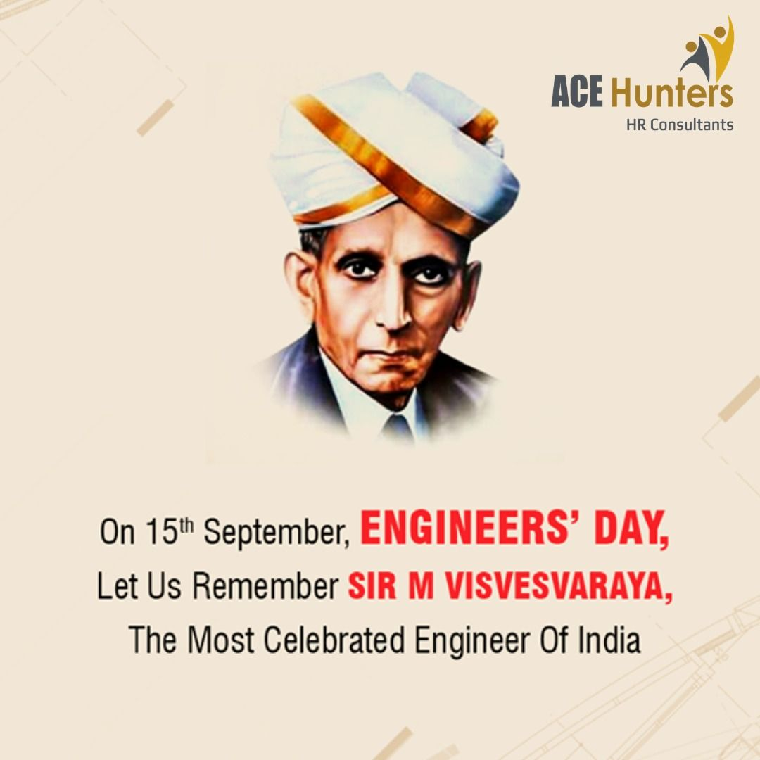 Happy Engineer's Day To all Engineers across the Globe. We
