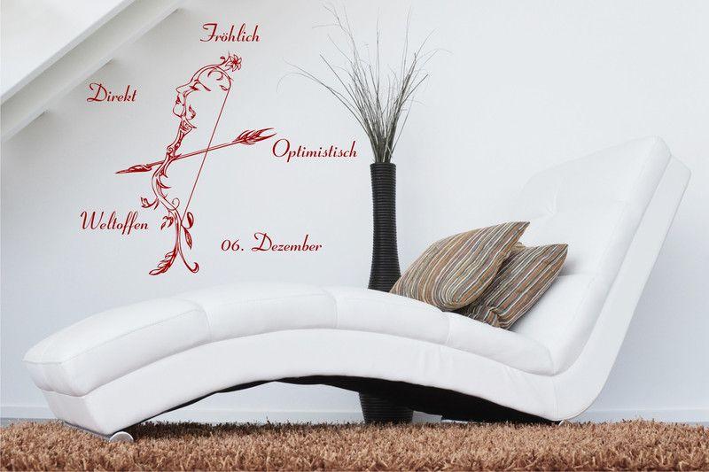 sch tze sternzeichen wandtattoo set von doon germany auf sagittarius sch tze. Black Bedroom Furniture Sets. Home Design Ideas