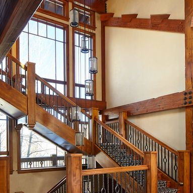 Good Frank Lloyd Wright Staircase Design Ideas, Pictures, Remodel And Decor