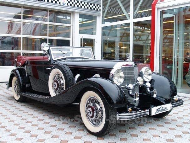 1934 Mercedes-Benz 500 K Cabriolet