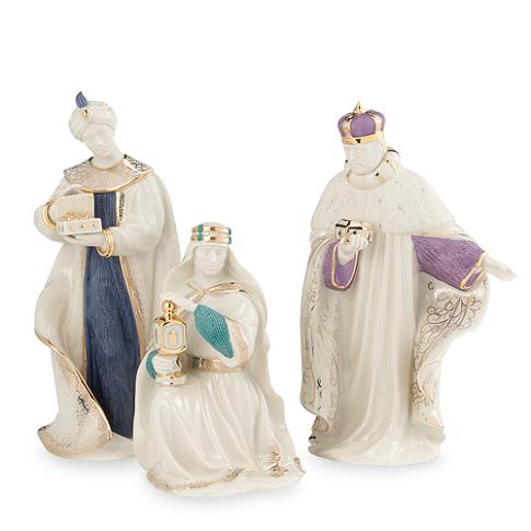 LENOX First Blessing Nativity Three Kings Set 195 BEST