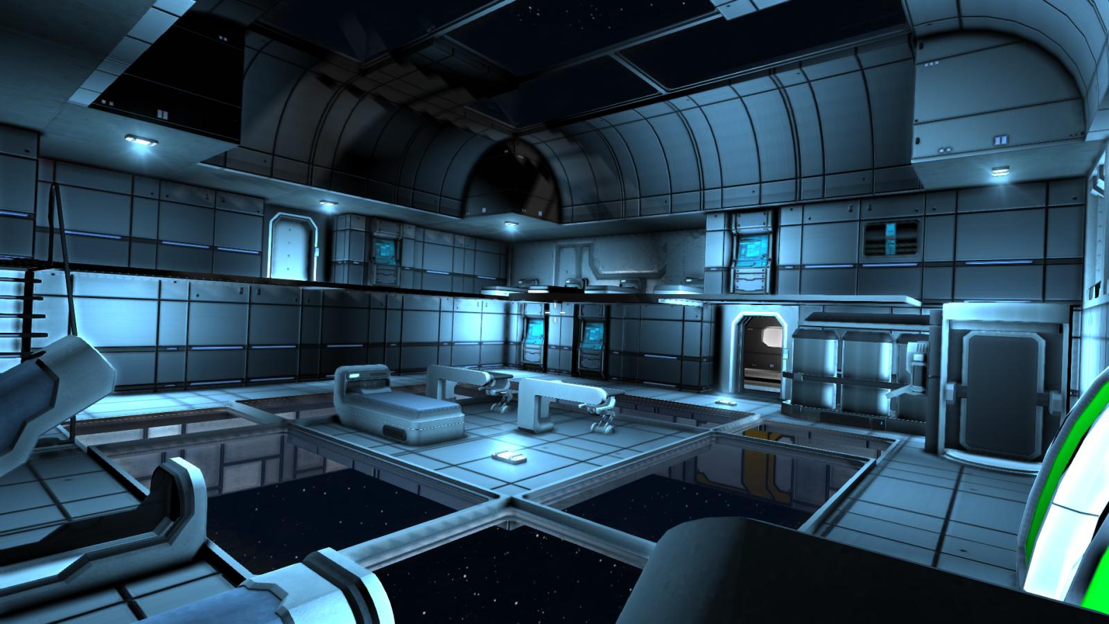 Spaceship S Briefing Room