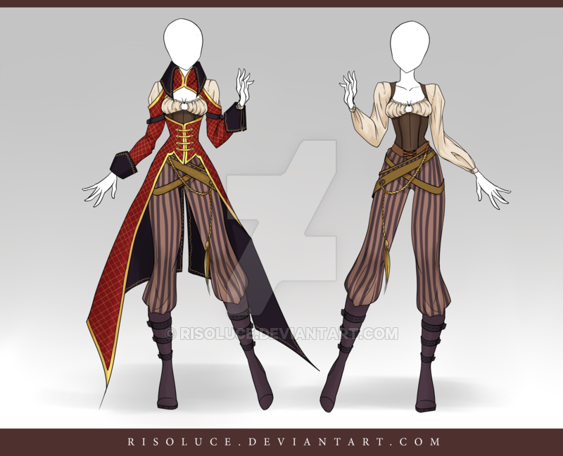 (CLOSED) Adoptable Outfit Auction 113 | Clothing Ideas | Pinterest | deviantART Characters and ...