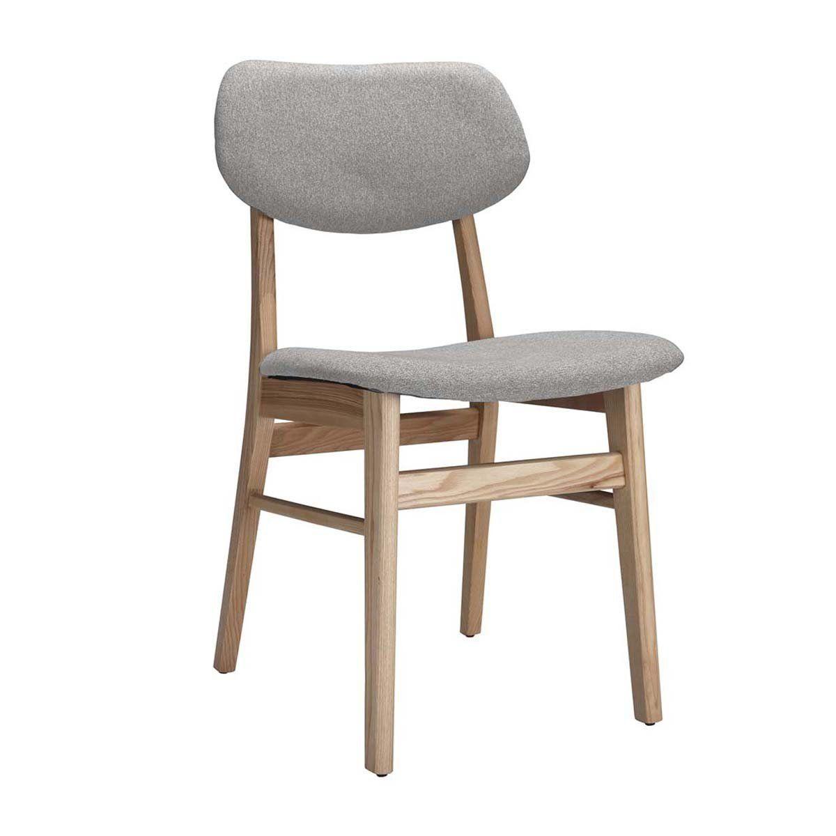 Life Interiors Ari Dining Chair Ash Light Grey Modern