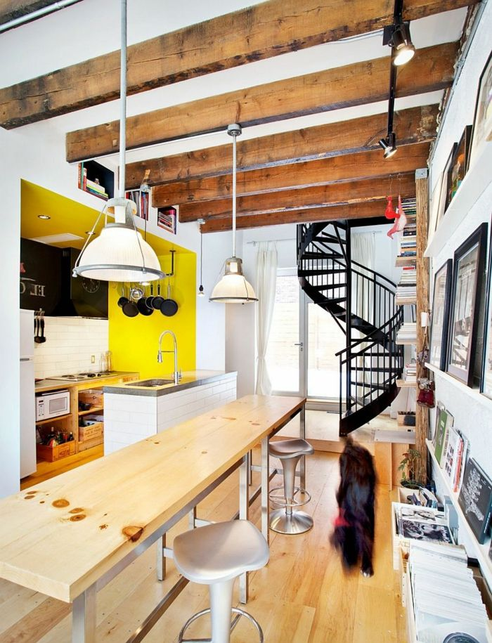 Best Spiral Staircase Inside Interior Staircase Black Interior 640 x 480