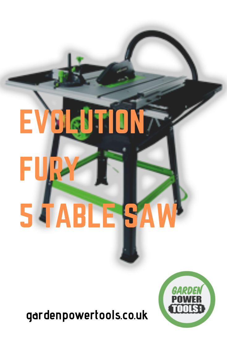 Evolution Fury 5 Multi Purpose Table Saw Independently