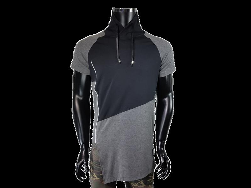 b1e2611c24 T-shirt męski kołnierz typu komin