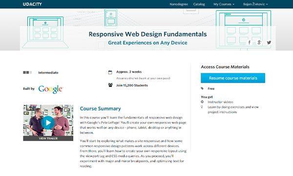 Free Web Design And Development Courses Built By Google Web Design Free Web Design Web Development Design