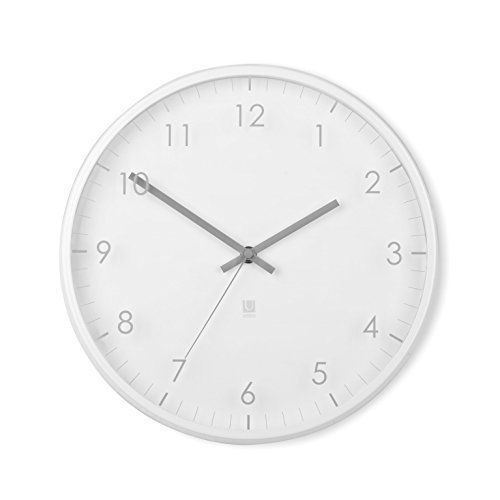 Umbra Pace Contemporary Wall Design Clock White