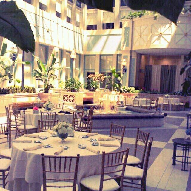 Atrium at the Crystal Tea Room Philadelphia  Crystal Tea